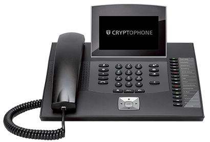 CryptoPhone Desktop Secure Telephone, Compatible with CryptoPhone Mobile Phone